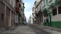 Street Scene in Centro Havana Stock Footage