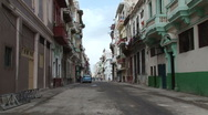 Stock Video Footage of Street Scene in Centro Havana