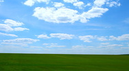 Landscape blue sky Stock Footage