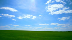 landscape blue sky - stock footage
