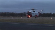 Stock Video Footage of Helicopter Takes Off