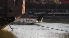 BargeMasters on River 03 Stock Footage
