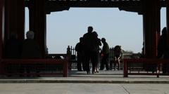Beihai park dancers, Beijing  - 1 Stock Footage