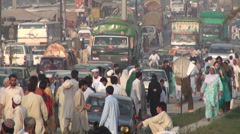Streetlife Pakistan Islamabad - stock footage