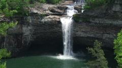 Desoto Falls Stock Footage
