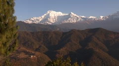 Nepal:  Foothills and Mountains - stock footage