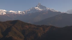 Nepal:  The Annapurna Mountain Range Stock Footage