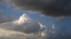 Timelapse clouds 25 Stock Footage