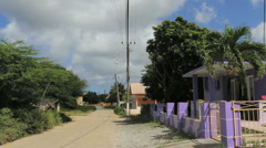 Bonaire town Stock Footage