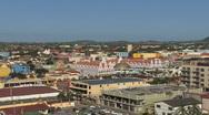 Aruba downtown view Stock Footage