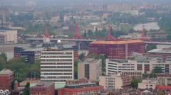 Budapest University City Stock Footage