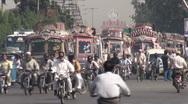 Karachi traffic Stock Footage