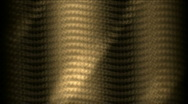Sunlight on golden metal plate,motion wave light,mystery ancient totem.abstract Stock Footage