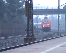 Heavy Train Passing I Stock Footage