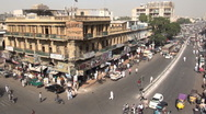 Crossing in Karachi Stock Footage