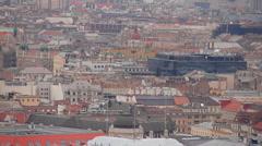 European Rooftops 03 Stock Footage