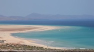 Stock Video Footage of Coast on Canary Island Fuerteventura