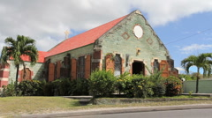 Antigua old church  Stock Footage
