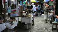 Stock Video Footage of Dominica Roseau market 1