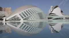 City of Arts and Sciences in Valencia, Spain 1080p - stock footage