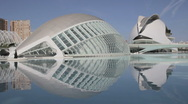 City of Arts and Sciences in Valencia, Spain 1080p Stock Footage