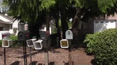 Suburban Homes 2 Stock Footage