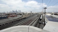 Stock Video Footage of LA Train 01 HD