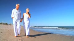 Montage of Senior Couple's Healthy Lifestyle Stock Footage