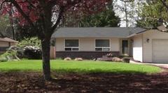 Suburban Homes 6 Stock Footage