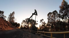 Oil Pumps Stock Footage