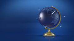 07 Globus HD P JPEG 25fps 20sec Stock Footage