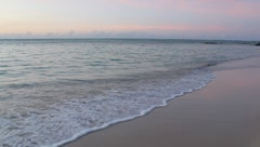 Caribbean sea at Pigeon Point, Tobago. Stock Footage