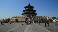 Temple of Heaven, Beijing, China - WIDE - stock footage