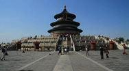 Stock Video Footage of Temple of Heaven, Beijing, China - WIDE