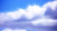 Timelapse Heavenly Sky Clouds 03 Loop HD1080 Stock Footage