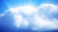 Timelapse Heavenly Sky Clouds 05 Loop HD1080 Stock Footage