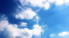 Timelapse Heavenly Sky Clouds 12 Loop HD1080 - stock footage