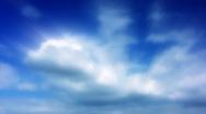 Timelapse Heavenly Sky Clouds 16 Loop HD1080 Stock Footage