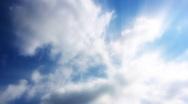 Timelapse Heavenly Sky Clouds 18 Loop HD1080 Stock Footage