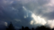 Timelapse Heavenly Sky Clouds 44 HD1080 Stock Footage