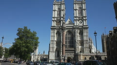Westminster Abbey London England Stock Footage