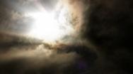 Timelapse Heavenly Sky Clouds 53 Loop HD1080 Stock Footage