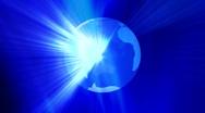 Global business universe world globe earth virtual planet Stock Footage