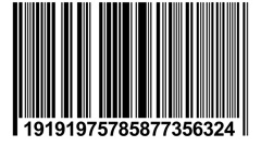 Barcode 1920x1080 - stock footage