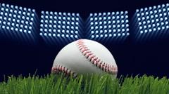 Baseball stadium - stock footage