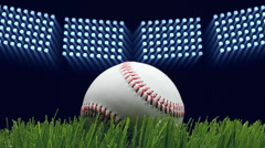 Stock Video Footage of Baseball stadium
