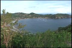 Zoom in San Juan del Sur - stock footage