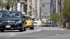 New York Time Lapse 12. Stock Footage