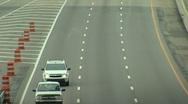 InterstateTraffic Stock Footage