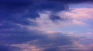 Timelapse Heavenly Sunset 10 Loop HD1080 Stock Footage